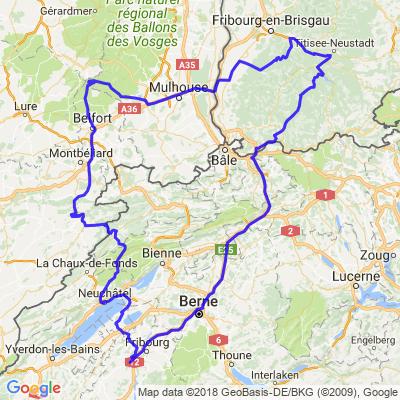 Forêt-Noire - Ballons d'Alsace