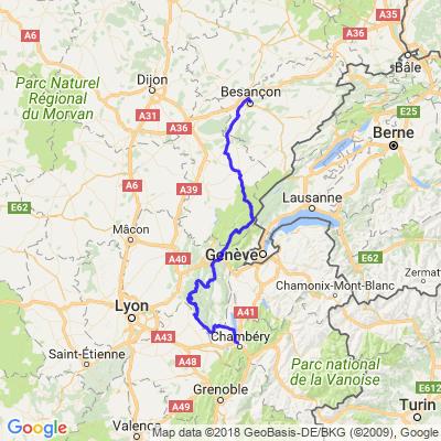 Ardèche/Vercors Etape 1