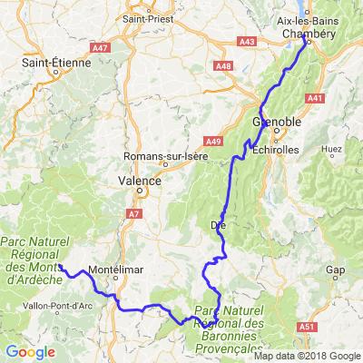 Ardèche/Vercors Etape 2
