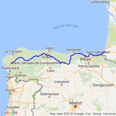 La Galice - De Bayonne à St Jacques de Compostelle