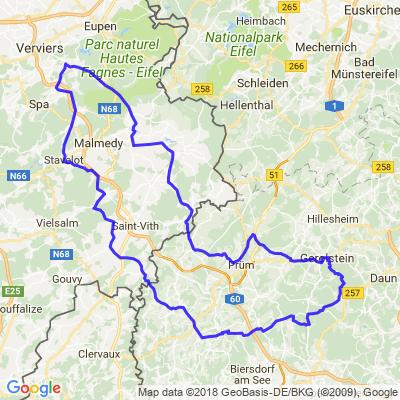 Boucle Stavelot-Gerostein 235 km