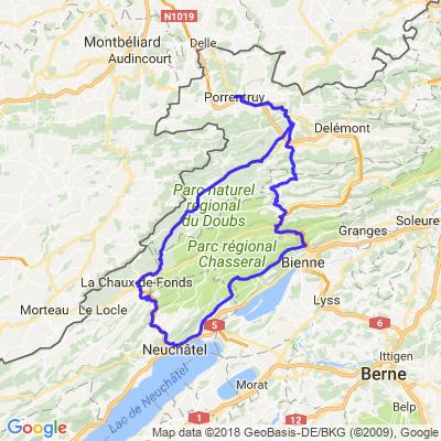 Tour sur le Jura, Var.2 (Vue des Alpes)