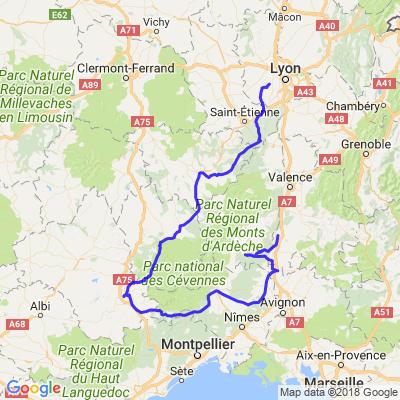 Ardèche / Pilat