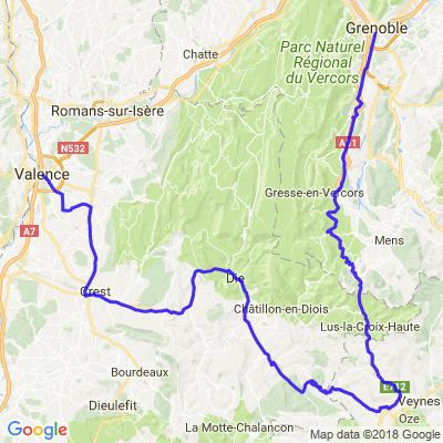 Valence - Grenoble