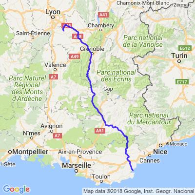 Isère route Napoléon étape 3
