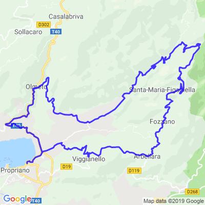 Propriano-Villages Perchés