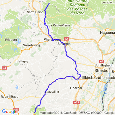 Balade Jura - Jour 3 - Partie 2 - Provenchères - Rahling