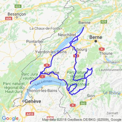 un week-end dans les Alpes Vaudoise