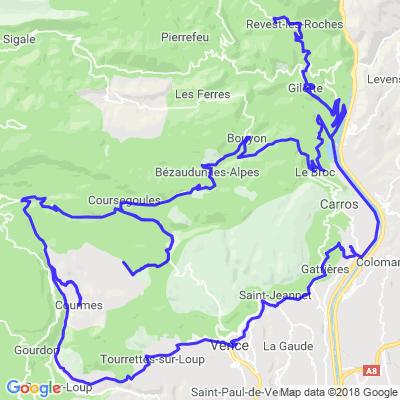 Virée Sur Gilette Alpes Maritimes