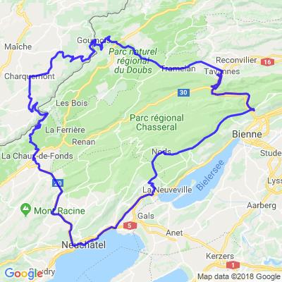 Jura suisse et français