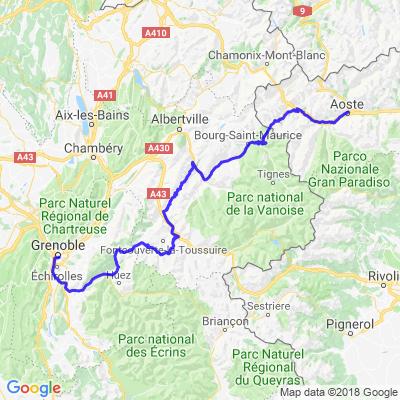 Tour du Mont Blanc Retour
