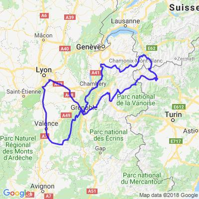 Petit tour des Alpes (France / Italie / Suisse)