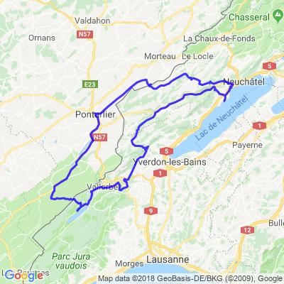 Lac du Haut Doubs et cols!