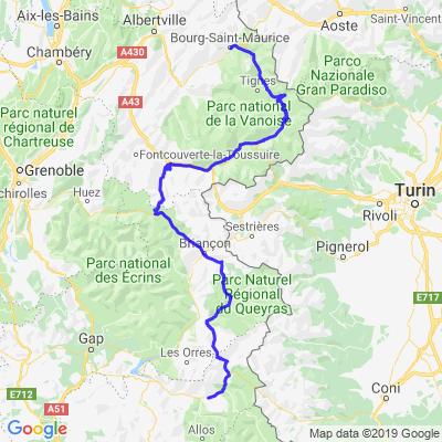 Route des Grandes Alpes - Etape 02