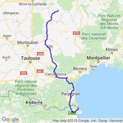 Auvergne - Catalogne