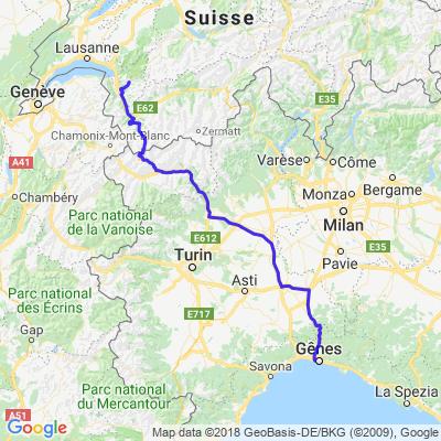 Cergnat - Gênes