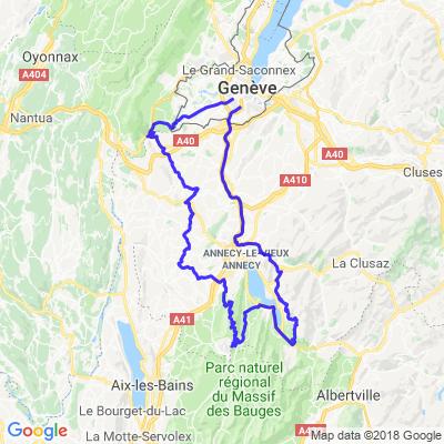 Tour Annecy: Col de la Forclaz,Semnoz et Jardins Secrets à Vaulx