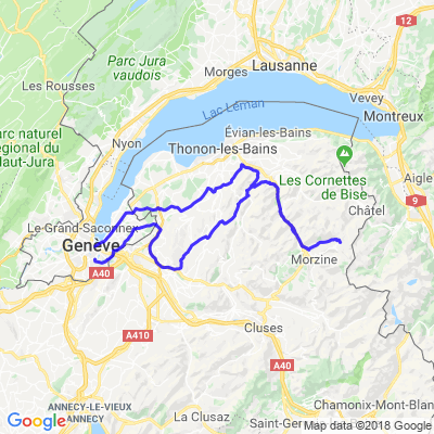Vallée Verte - Lindarets - Pont du Diable