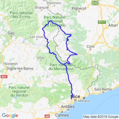 [IT] Les cols depuis Nice