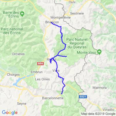 Route des grandes Alpes 3/5 jours