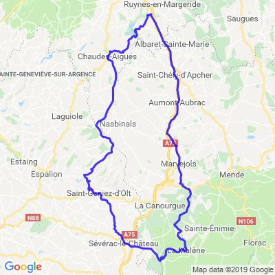 Cantal - boucle 5 - journée
