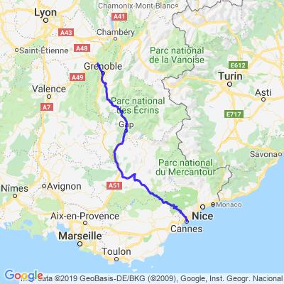 Route Napoléon 2
