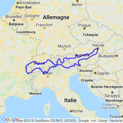 Visite de l'Autriche été 2019