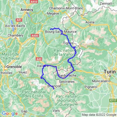 2: Routes des Grandes Alpes Etape 2