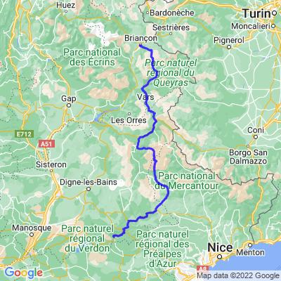 3: Route des Grandes Alpes Etape 3
