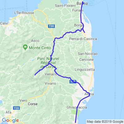 Tour de Corse Jour 5 - Gorges de la Restonica