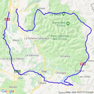 Grenoble, Briançon, Gap