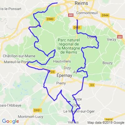 Secteurs Epernay et Reims