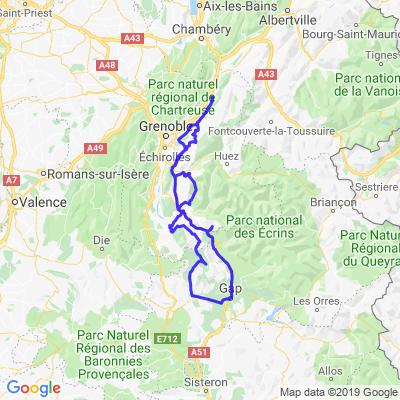 voyage au sud de Grenoble