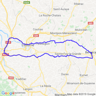 Bordeaux, Bergerac, Bordeaux