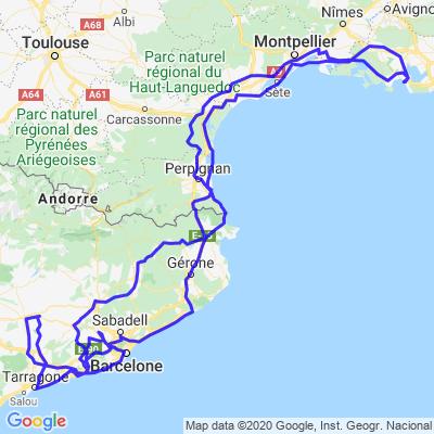 Côtes  🇫🇷 / Espagne 🇪🇸