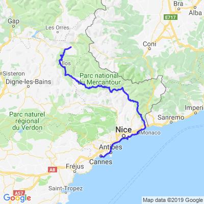 Route Napoléon 3