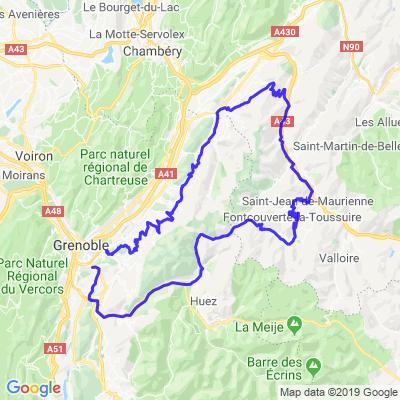 Ballade estivale aux Sybelles depuis Grenoble