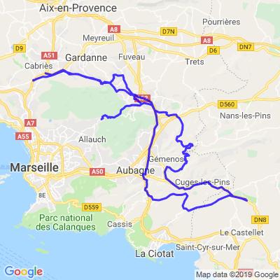Direction Le Circuit du Castellet