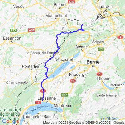 Sortie Jura Alsace retour