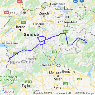 Alpes Suisse - jour 2
