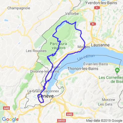 St-Cerge / lac de Joux