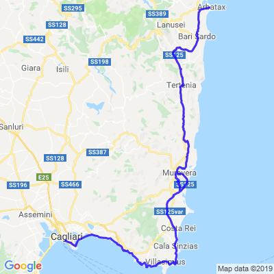 Tour de Sardaigne Etape 3