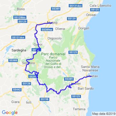 Tour de Sardaigne Etape 4
