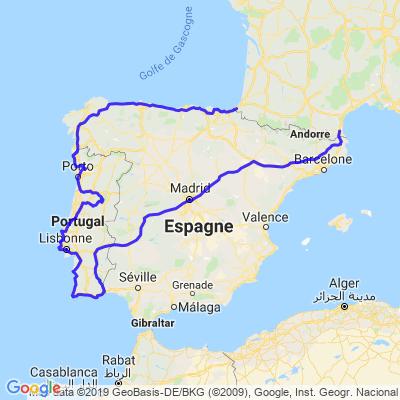 Trip tour du portugal