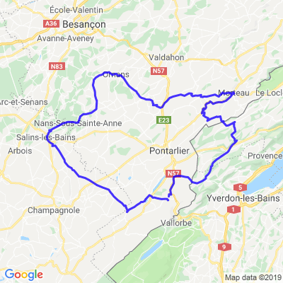 R1200C Doubs: Salins/Morteau