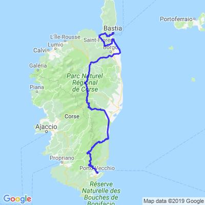Tour de Corse jour 5