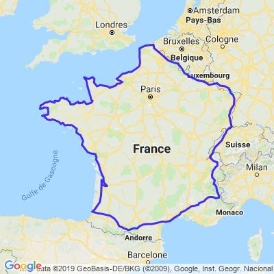 Tour de France en 19 jours pour 5120 km