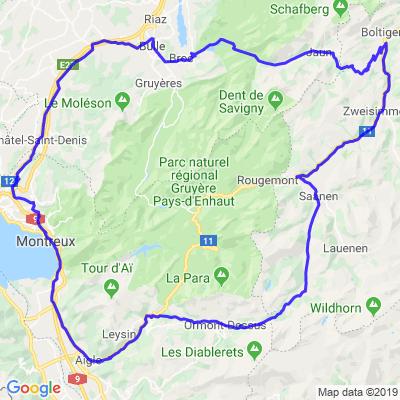 La Croix, Pillon , Jaunpass