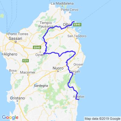 Nord-Sardinia-Tour 1/3