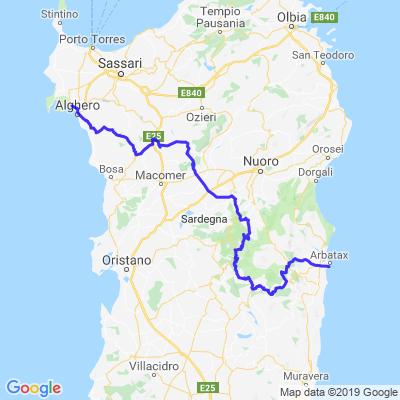 Nord-Sardinia-Tour 2/3